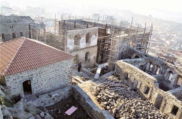Las obras en el Monasterio Kizlar han llegado a su fin.