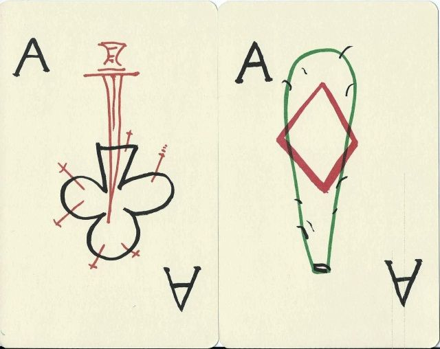 ¿Cuál es el origen de los palos de la baraja de póker?