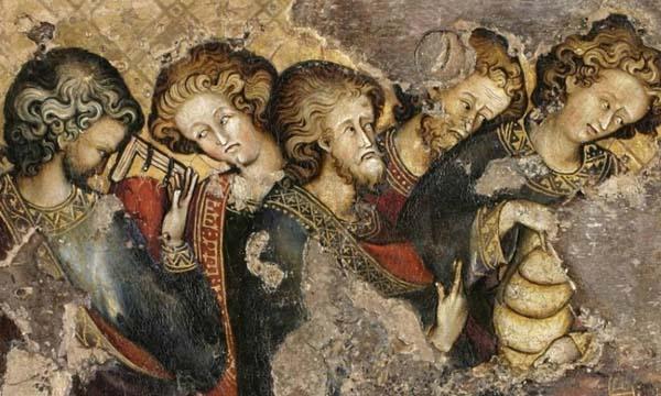El retablo medieval de la Abadía de Westminster fue realizado con material de baja calidad.