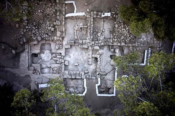 Posible tumba de los Macabeos, en Israel. Crédito: Autoridad de Antigüedades de Israel.