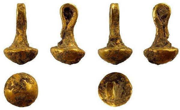 Joya de oro más antigua con más de 6.000 años.