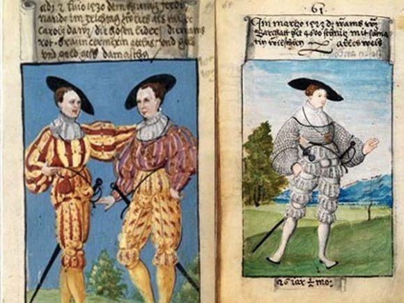 Libro de Schwarz, el libro de moda más antiguo.