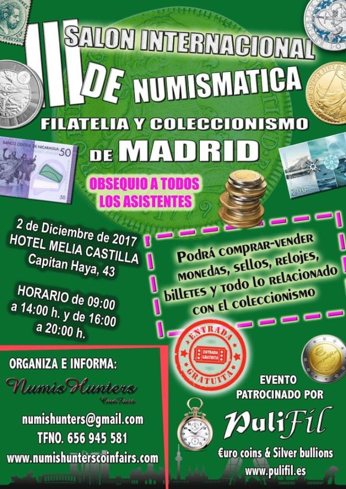 salon numismatica madrid
