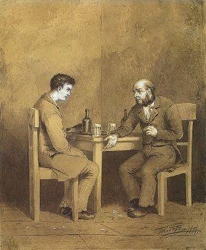 Raskólnikov y Marmeládov