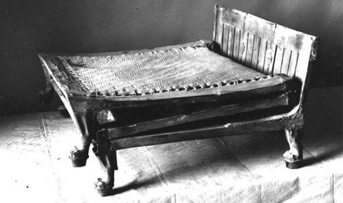 cama plegable tutankamon