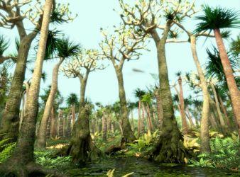 flora periodo carbonifero