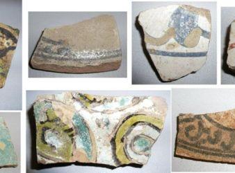 ceramicas vidriadas de la alcazaba de almeria