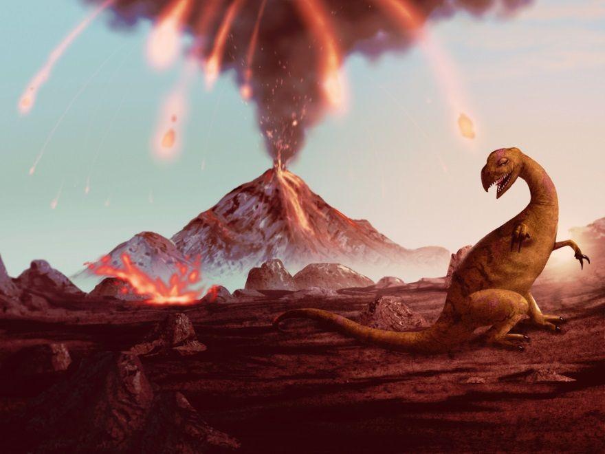 vulcanismo extincion dinosaurios