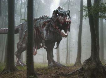 reconstruccion tyrannosaurus rex