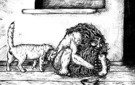 dvorovoi mitologia eslava