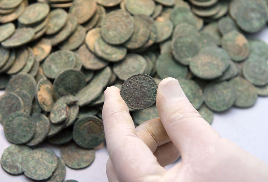 monedas romanas bronce tomares