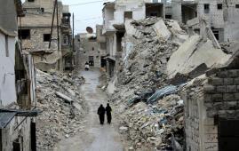 guerra civil siria alepo
