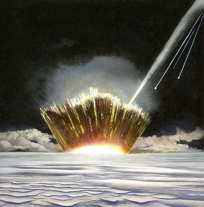 impacto meteorito groenlandia