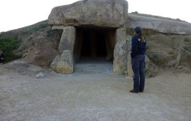 dolmen de menga antequera