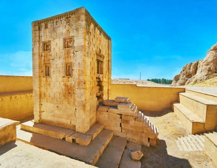 Ka'ba-i-Zartosht o cubo de zoroastro