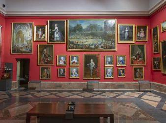 El Gabinete de Descanso de sus Majestades museo del prado