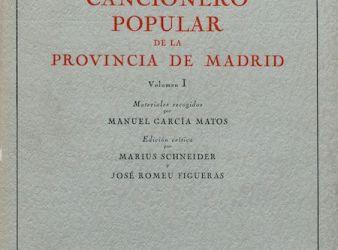 libro Cancionero Popular Español