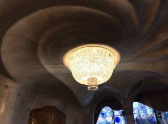 nueva luminaria casa batllo gaudi