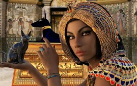gatos en la cultura egipcia