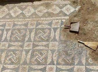 mosaico villa di teodorico