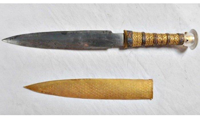 daga de hierro tutankamon