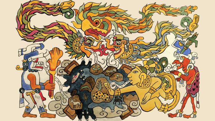 lista dioses mayas