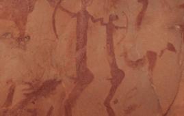 pintura rupestre marruecos