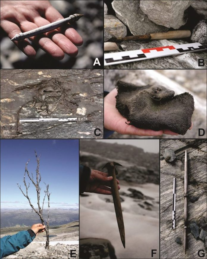 objetos vikingos descubiertos en noruega