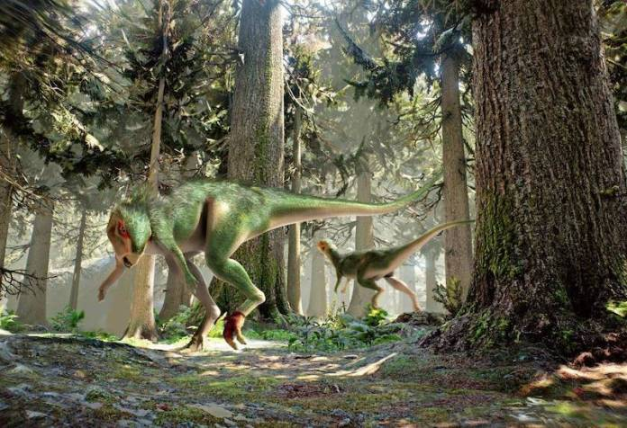 Othnielosaurus recreacion