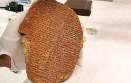 Tablilla del Sueño de Gilgamesh subasta