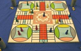 tablero de juego parchis