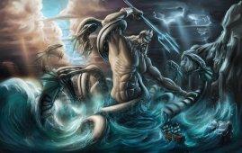 poseidon dios del mar
