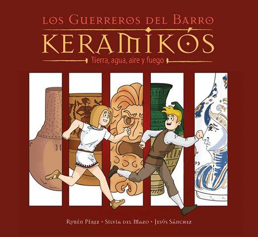 libro keramikos pequeños arqueologos