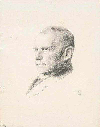 retrato de theodor wiegand
