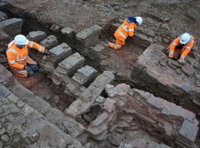 horno de azulejos villa romana reino unido