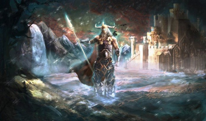 odin principal dios nordico
