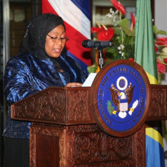 presidenta tanzania Samia Suluhu Hassan