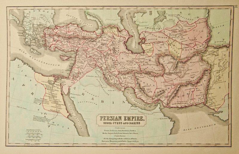 mapa del imperio persa