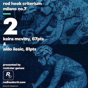 Keira McVitty (Why Be Normal?) 67 points Brooklyn No.9 (Qualifying: 17th / Race: 5th) London No.2 (Qualifying: 17th / Race: 8th) Barcelona No.4 (Qualifying: 13th / Race: 3rd) --------------------------------------------------Aldo Ino Ilesic (Allez-Allez Specialized) 81 points Brooklyn No.9 (Qualifying: 6th / Race: 3rd) London No.2 (Qualifying: 1st / Race: 3rd) Barcelona No.4 (Qualifying: 7th / Race: 3rd)