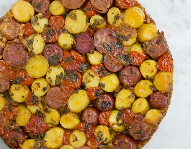 Potato Tart - Red Hot and Hungry