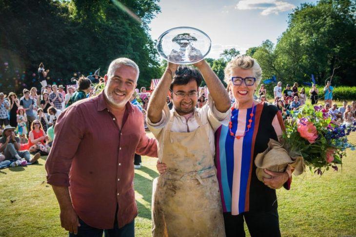 Rahul Mandal Wins Channel 4 Great British Bake Off Series 2018