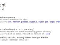 define-intent