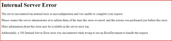 server side 404 page