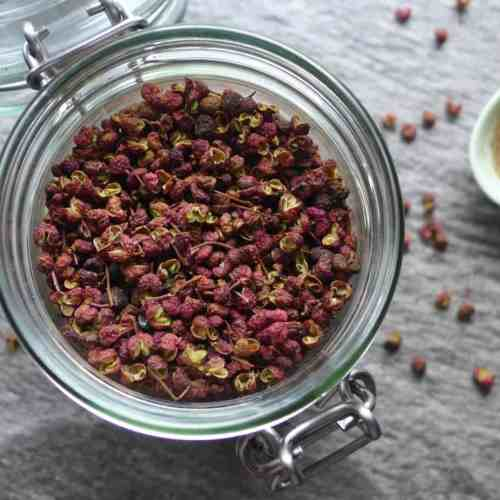 Sichuan peppercorn is one of the most important spices used in the Chinese kitchen. It has an unusual aroma and creates a unique sensation in your mouth.
