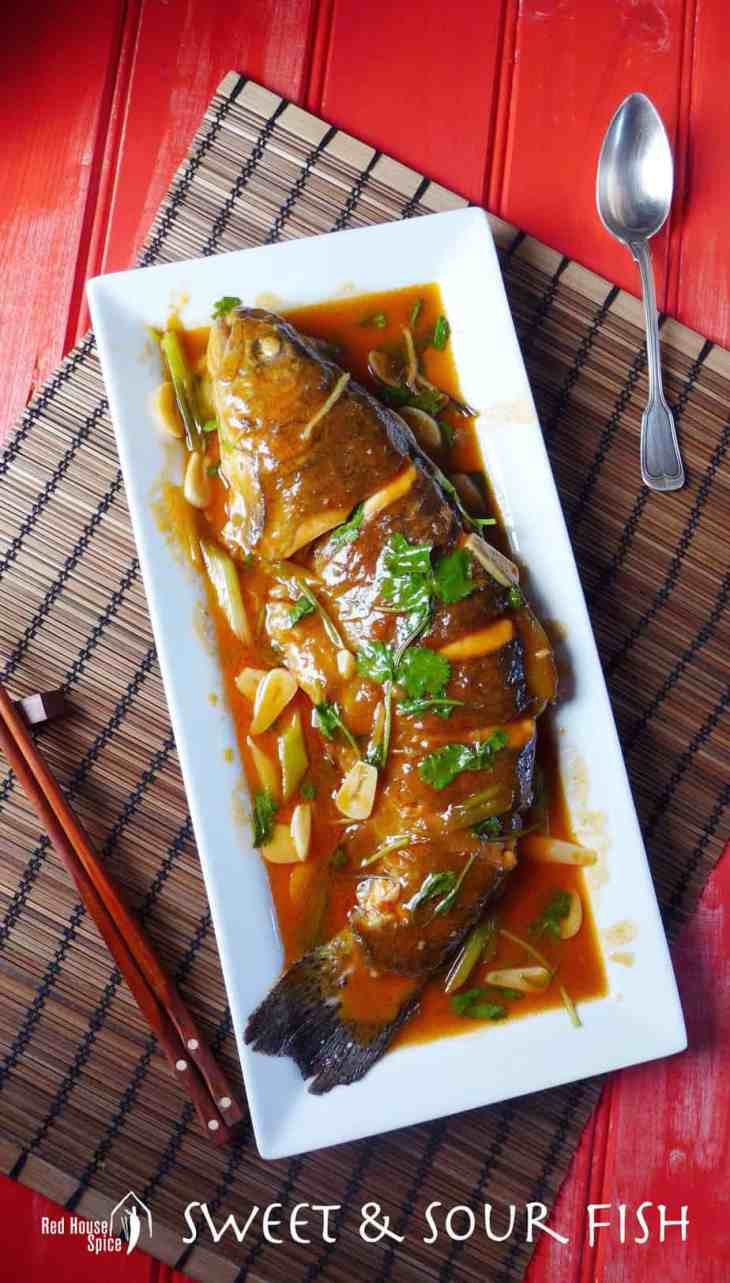 Sweet and sour fish in 20 mins red house spice chinese sweet and sour fish ready in 20 minutes no deep frying needed forumfinder Image collections