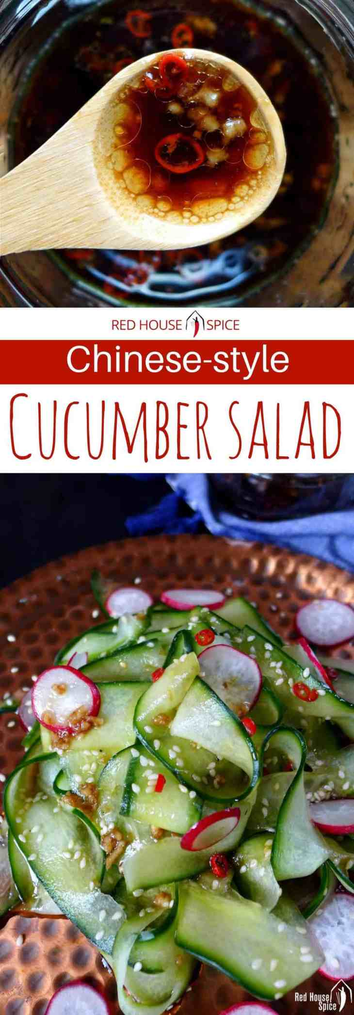A classic salad with a new look. Flavoured with an easy Chinese dressing. Formula to make this versatile seasoning revealed.