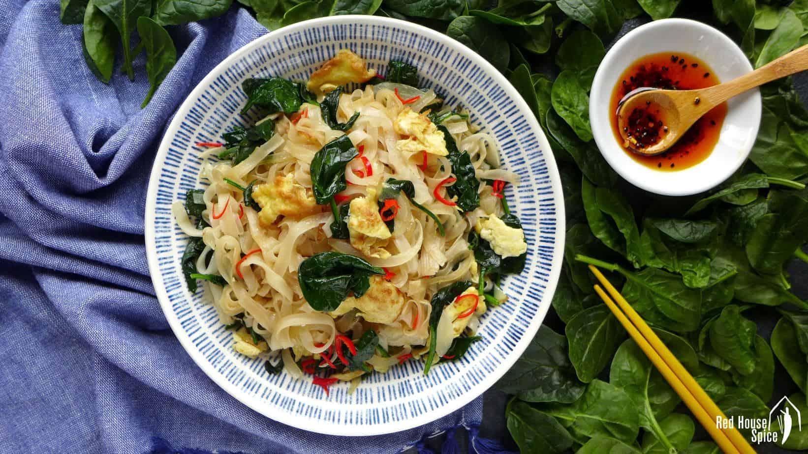 Egg fried rice noodles (鸡蛋炒米粉)