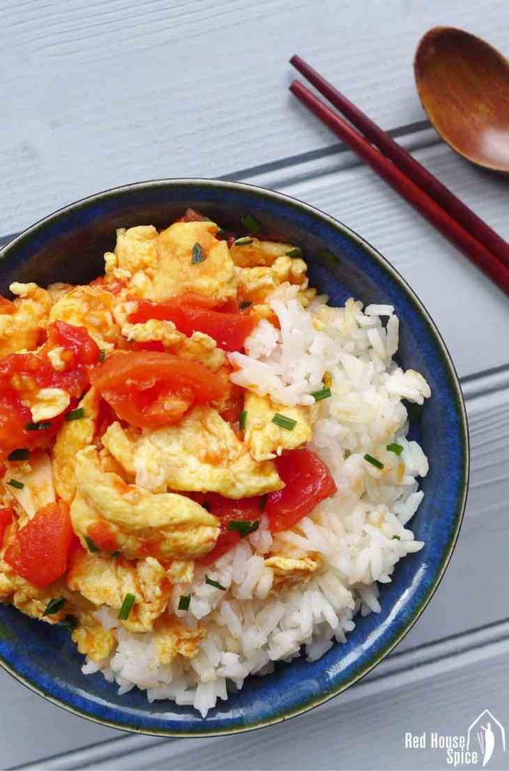 Tomato and egg stir fry red house spice only three common ingredients needed tomato and egg stir fry is truly a national forumfinder Choice Image