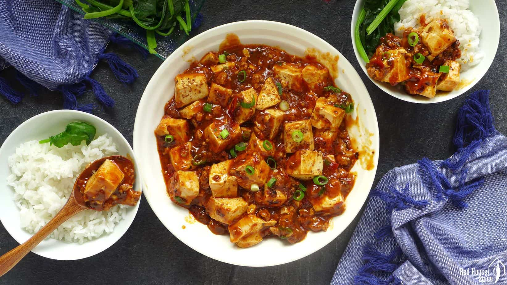 Mapo tofu, the authentic way (麻婆豆腐)