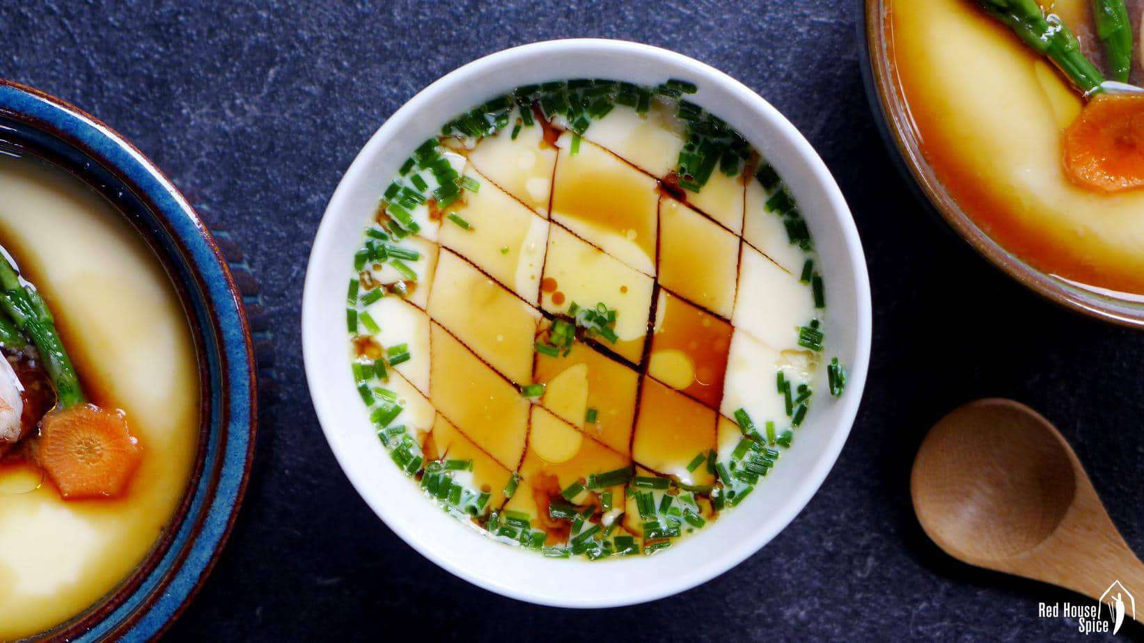 Chinese steamed eggs, a perfectionist's guide (蒸蛋羹)